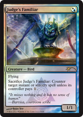 Judge's Familiar - Foil FNM 2013