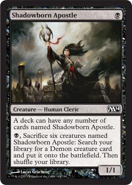 Shadowborn Apostle - Foil