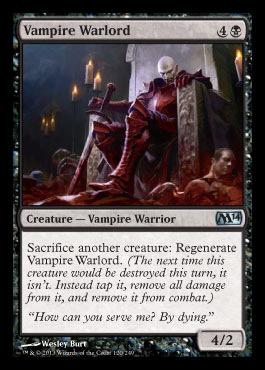 Vampire Warlord - Foil