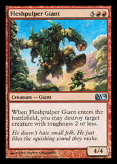 Fleshpulper Giant - Foil on Channel Fireball