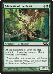 Advocate of the Beast - Foil on Channel Fireball