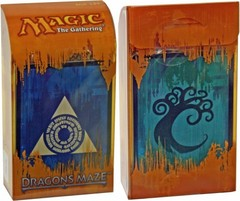 Dragon's Maze Prerelease Kit - Azorius/Simic