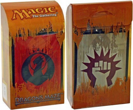 Dragons Maze Prerelease Kit - Izzet/Boros