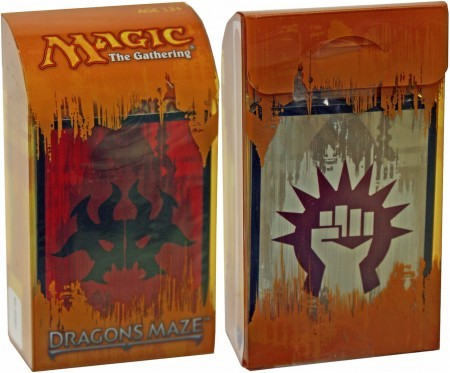 Dragons Maze Prerelease Kit - Rakdos/Boros