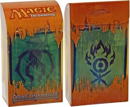 Dragons Maze Prerelease Kit - Golgari/Gruul