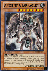 Ancient Gear Golem - BP02-EN035 - Rare - 1st on Channel Fireball