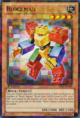Blockman - BP02-EN049 - Mosaic Rare - 1st