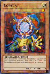 Copycat - BP02-EN058 - Mosaic Rare - 1st Edition