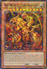 The Winged Dragon of Ra - BP02-EN126 - Mosaic Rare - 1st Edition