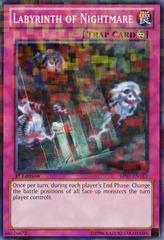 Labyrinth of Nightmare - BP02-EN183 - Mosaic Rare - 1st