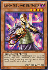 Kycoo the Ghost Destroyer - BP02-EN011 - Common - 1st Edition