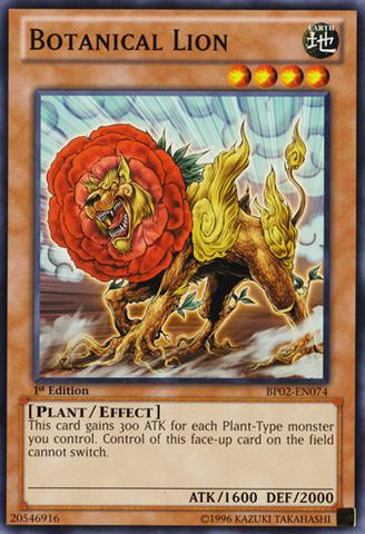 Botanical Lion - BP02-EN074 - Common - 1st