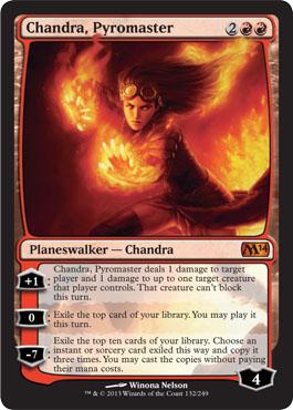Chandra, Pyromaster - Foil