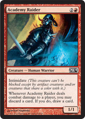 Academy Raider - Foil on Channel Fireball