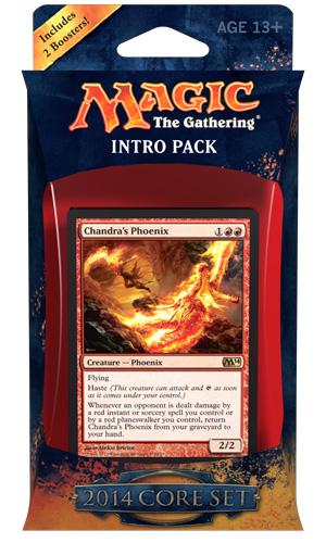 MTG Magic 2014 M14 Intro Pack: Fire Surge