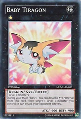 Baby Tiragon - NUMH-EN051 - Super Rare - 1st Edition on Channel Fireball