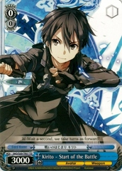 Kirito - Start of the Battle - S20-TE07 -  TD