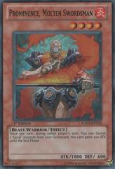 Prominence, Molten Swordsman - HA05-EN010 - Super Rare - Unlimited Edition