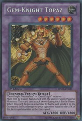 Gem-Knight Topaz - HA05-EN021 - Secret Rare - Unlimited Edition