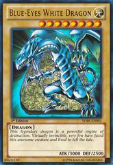 Blue-Eyes White Dragon - SDBE-EN001 - Ultra Rare - 1st on Channel Fireball