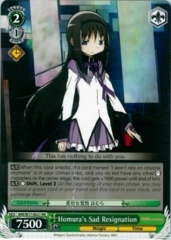 MM/W17-E021 RR Homura's Sad Resignation