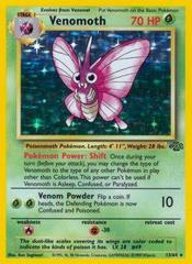 Venomoth - 13/64 - Holo Rare - Unlimited Edition