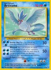 Articuno - 17/62 - Rare - Unlimited Edition on Channel Fireball