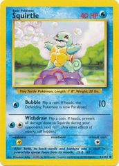 Squirtle - 63/102 - Common - Unlimited Edition