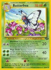 Butterfree - 33/64 - Uncommon - Unlimited Edition