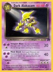 Dark Alakazam - 18/82 - Rare - Unlimited Edition
