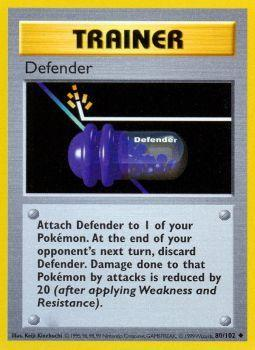 Defender - 80/102 - Uncommon - Shadowless Edition