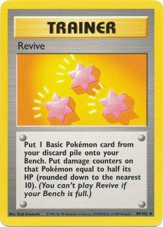 Revive - 89/102 - Uncommon - Unlimited Edition