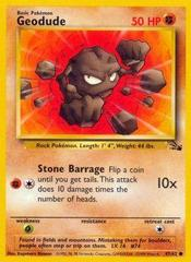 Geodude - 47/62 - Common - Unlimited Edition
