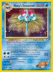 Misty's Tentacruel - 10/132 - Holo Rare - Unlimited Edition