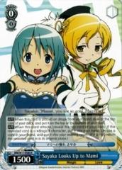 Sayaka Looks Up to Mami - MM/W17-084 - R