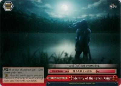 Identity of the Fallen Knight - FZ/S17-E083 - CR