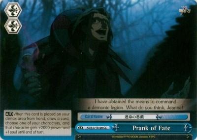 Prank of Fate - FZ/S17-E100 - CC