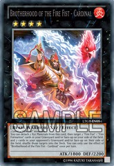 Brotherhood of the Fire Fist - Cardinal - LTGY-EN054 - Secret Rare - Unlimited Edition