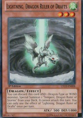 Lightning, Dragon Ruler of Drafts - LTGY-EN098 - Common - Unlimited Edition