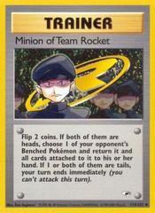 Minion of Team Rocket - 113/132 - Uncommon - Unlimited Edition