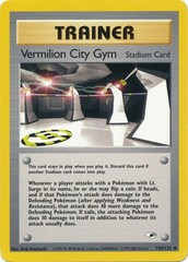 Vermilion City Gym - 120/132 - Uncommon - Unlimited Edition