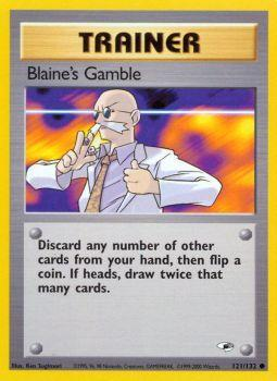 Blaines Gamble - 121/132 - Common - Unlimited Edition
