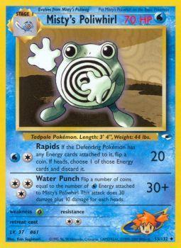 Mistys Poliwhirl - 53/132 - Uncommon - Unlimited Edition