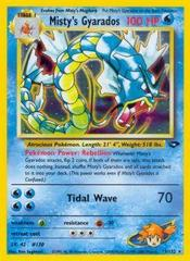 Misty's Gyarados - 13/132 - Holo Rare - Unlimited Edition
