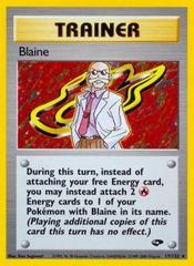 Blaine - 17/132 - Holo Rare - Unlimited Edition