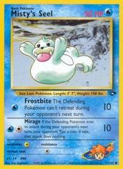 Misty's Seel - 91/132 - Common - Unlimited Edition