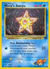 Misty's Staryu - 92/132 - Common - Unlimited Edition