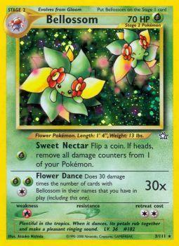 Bellossom - 3/111 - Holo Rare - Unlimited Edition