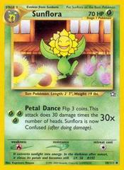 Sunflora - 50/111 - Uncommon - Unlimited Edition