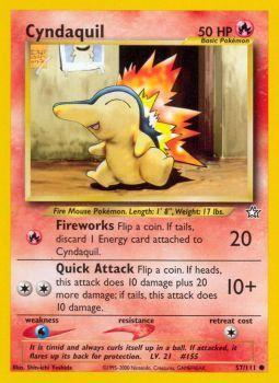Cyndaquil - 57/111 - Common - Unlimited Edition